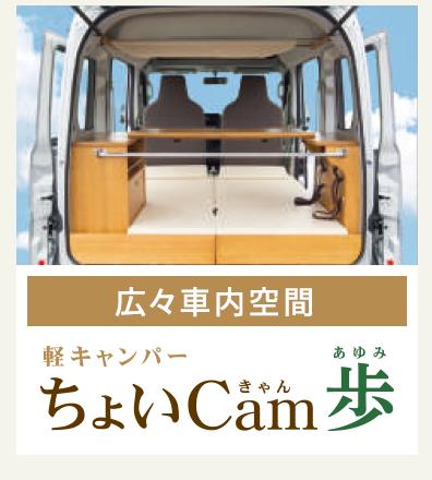 ちょいCam歩